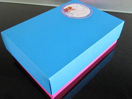 Contenu de la boîte mystère pour invités