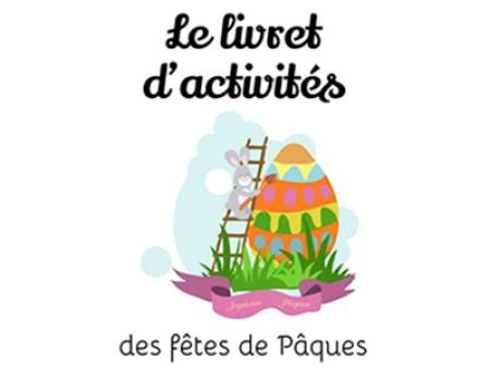 Un livret d'activités de Pâques pour amuser les enfants