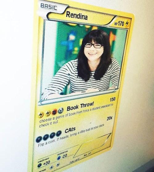 Poster en forme de carte pokemon