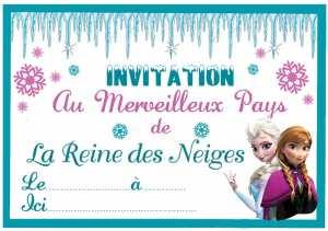 Un Anniversaire Reine Des Neiges Magique Myplanner Le Blog