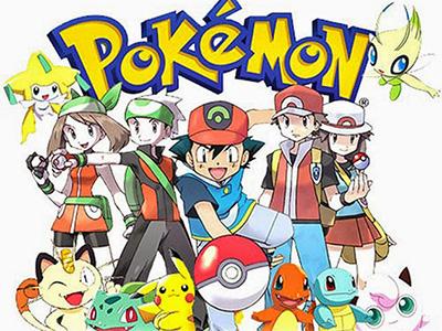 Pokémons avec Sasha tenant une pokeball