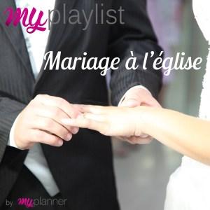 My playlist - mariage à l'église