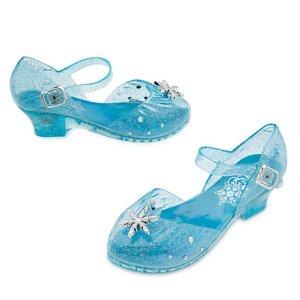 Chaussures du déguisement reine des neiges Elsa