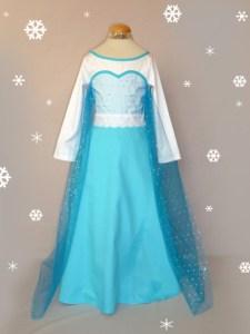 Déguisement reine des neiges Elsa sur-mesure