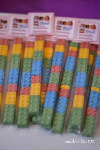 Pochette surprise pour invités à un anniversaire lego