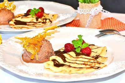 Recette de crêpes de grand-mère pour restaurant gastronomique