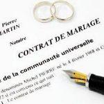 Contrat de mariage & régimes matrimoniaux: lequel choisir?