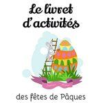 Le Livret d'activités de Pâques