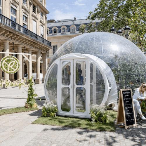 la bulle végétale Yves Rocher