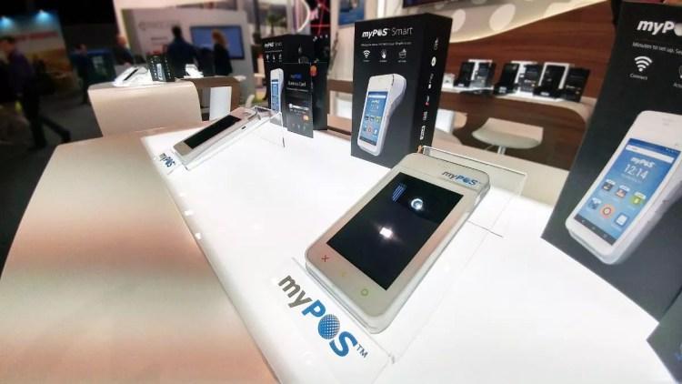 Mobile World Congress 2017 - myPOS terminals