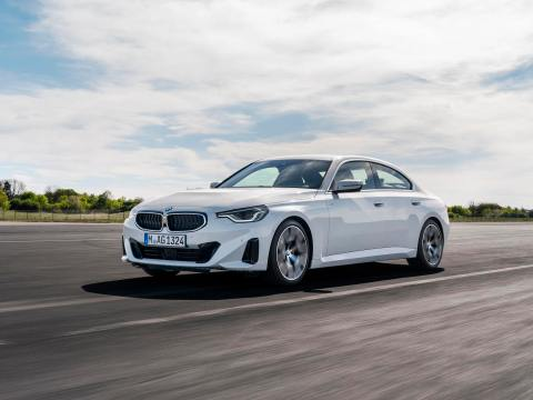 BMW 2 Series Gran Coupe render based on the 2-door coupe