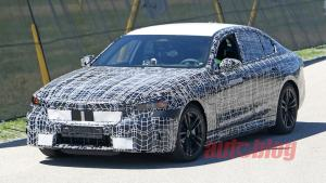 BMW 5 Series' next generation caught in public in new spy photos