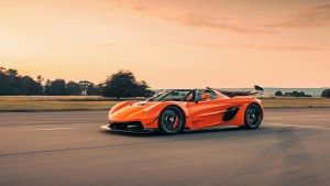 Koenigsegg's first Jesko is a tribute to one of its first cars