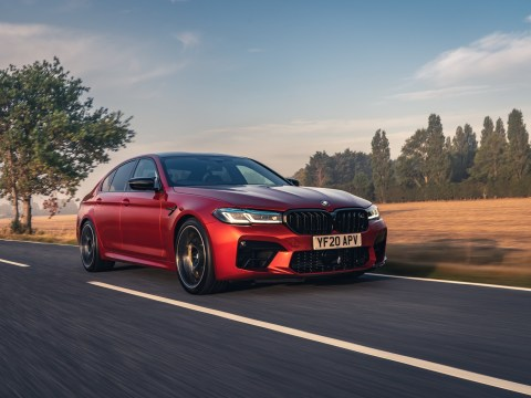 The New BMW M5 Competition UK 46