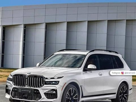 2022 BMW X7 Facelift to feature split headlights