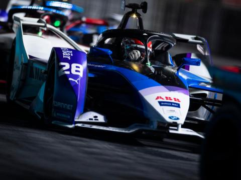 BMW i Andretti Motorsport drivers in the points