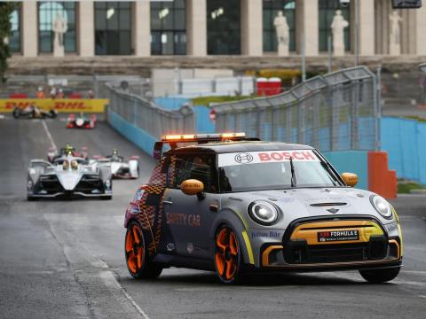 MINI Electric Pacesetter will make its US debut at Brooklyn Formula E race