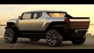 GM Design shows another early Hummer EV sketch