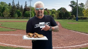 Innovation or abomination? Guy Fieri, Chevy create apple pie hot dog