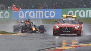 Verstappen wins rain-marred Belgian GP after a few laps behind the safety car