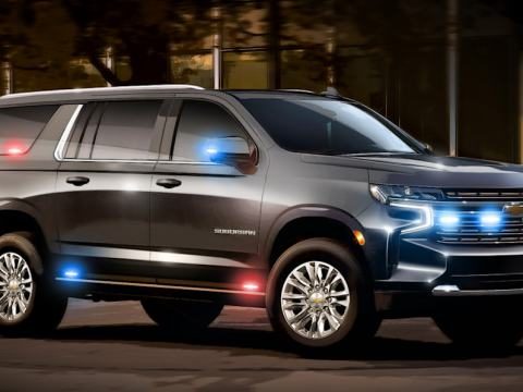 Government gives GM $36.4 million to develop 10 heavy-duty Suburbans