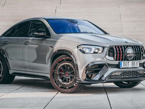 Mercedes GLE gets the Brabus 900 Rocket Edition treatment