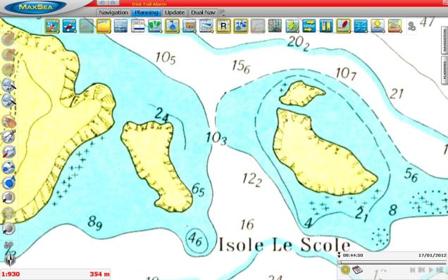 Isole Le Scole Raster MapMedia mm3d