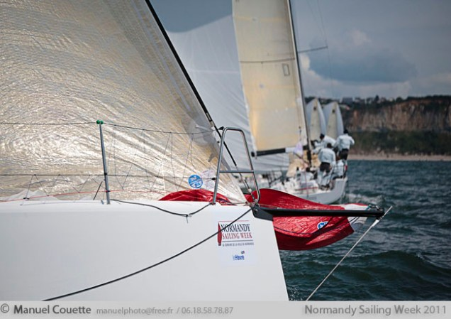 Normandy Sailing Week 2011 - Boat