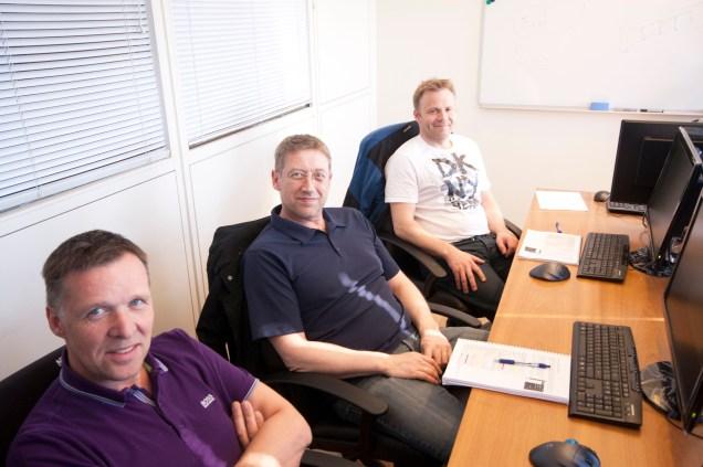 MaxSea TimeZero Trainees in Brimrun Classroom