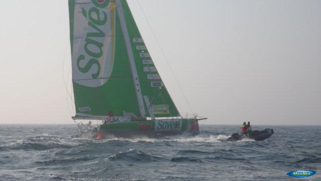 Sam Davies & Savéol - Transmanche Race 2012