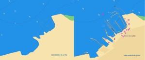 Marina de La Paz Jeppesen vector chart update