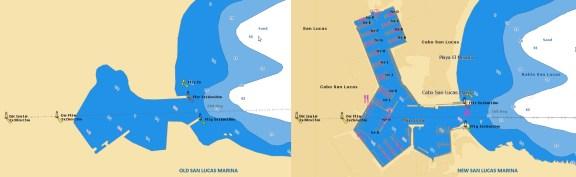 Marina San Lucas Jeppesen vector chart update