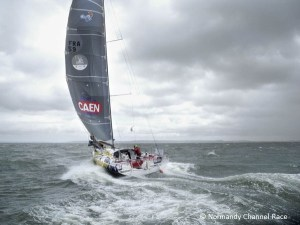 Sailing towards the Fastnet - Normandy Channel Race 2011