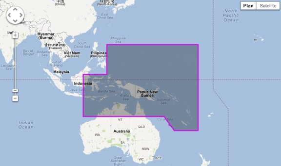 Papua New Guinea and Solomon Islands new Jeppesen vector chart