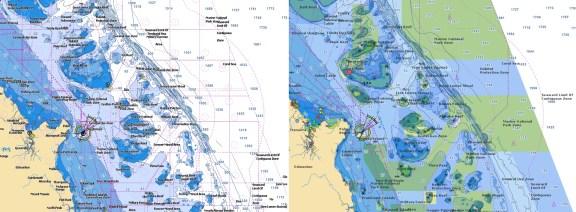 Australia - East Navionics vector chart update