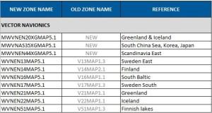 Scandinavia, Iceland, Greenland and East Asia Navionics Chart Update - October 2012