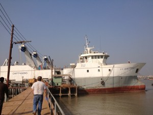SRL Cosmos trawl in Bangladesh