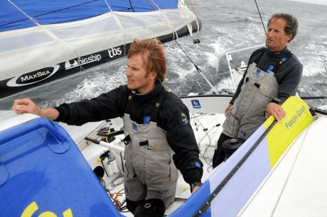 MACIF team at the Transat Jacques Vabre