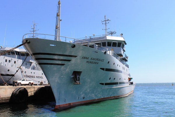 Commercial fishing vessel: Anna Kakurukaze Mungunda