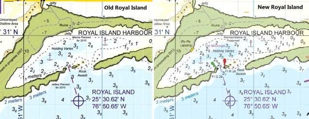 Jeppesen Bahamas Explorer Raster Chart Update - Royal Island