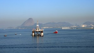 Oil Rig Guanabara Bay