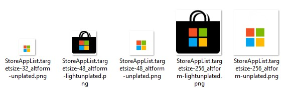 Microsoft Store Assets