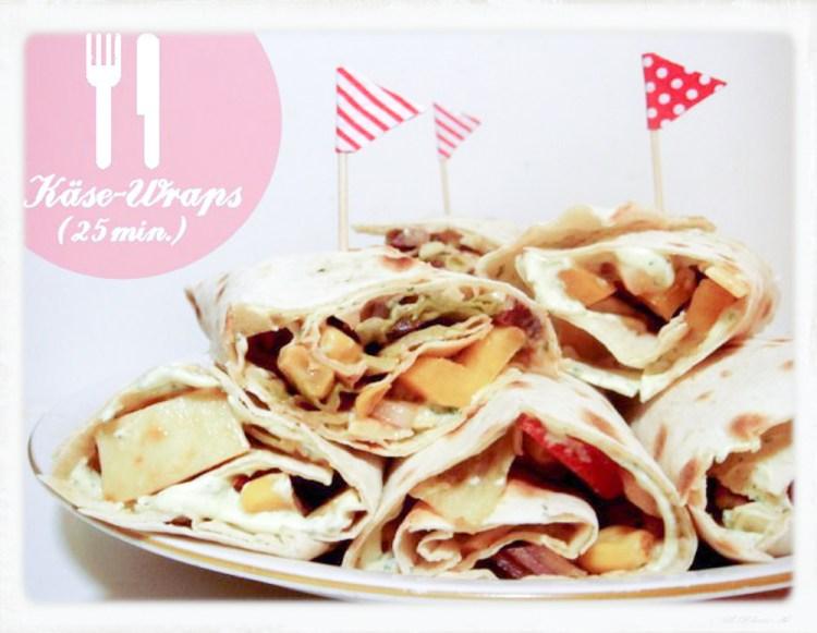 Käse-Wraps
