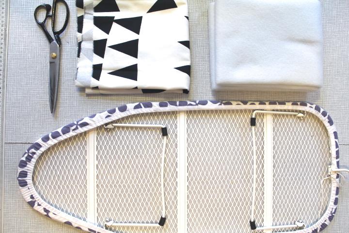 anleitung f r einen selbstgen hten b gelbrett bezug diy n hmarie. Black Bedroom Furniture Sets. Home Design Ideas