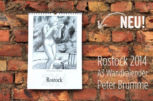 Rostock-Kalender 2014 von Peter Brumme