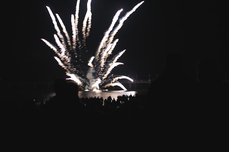 Neujahrsfeuerwerk Zinnowitz