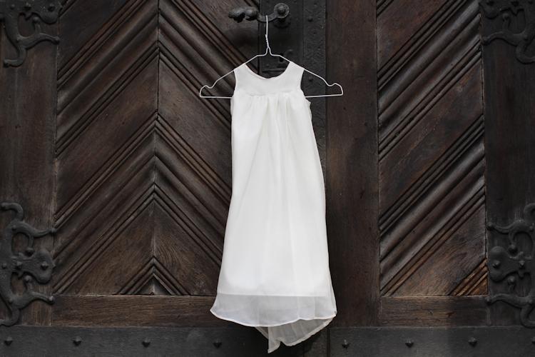 Aus Brautkleid wird Taufkleid