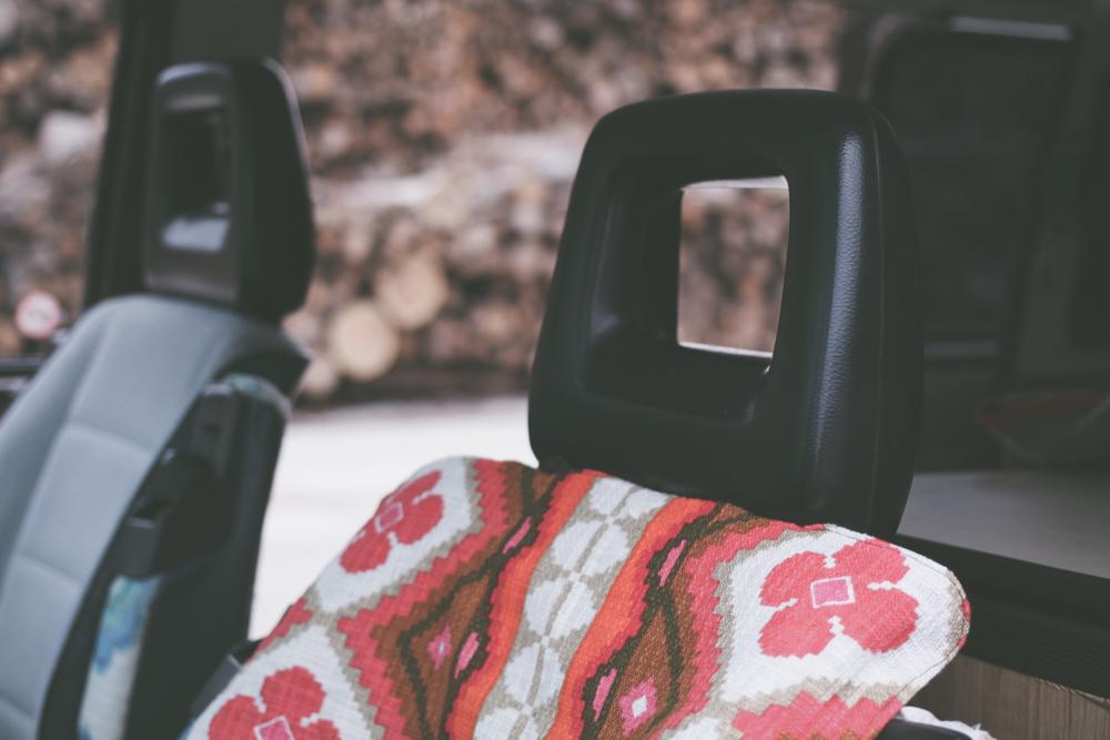 DIY Quick Car Seat Cover