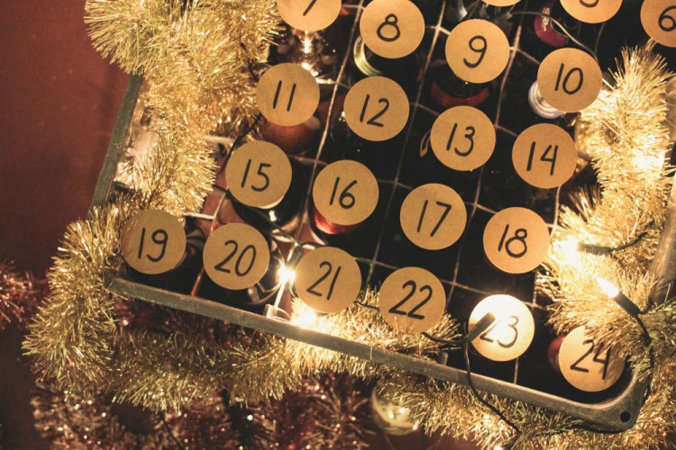 DIY Bier Adventskalender by naehmarie.de