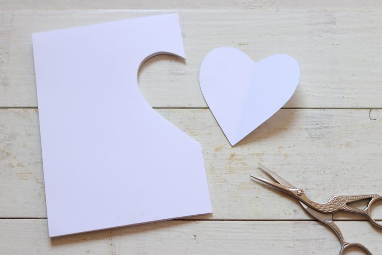 From the heart: embroidered Mother's Day card